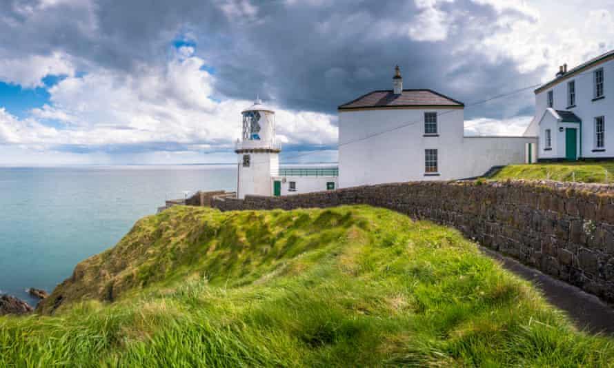 Blackhead path lighthouse, Whitehead, County Antrim