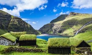 Village of Saksun, Faroe Islands
