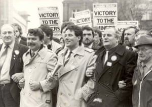 A 1984 march led by Derek Hatton, who was eventually expelled by the Labour party for being a member of Militant