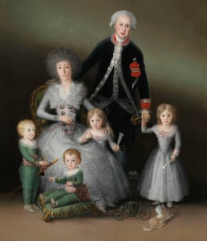The Family of the Duke of Osuna by Francisco de Goya.