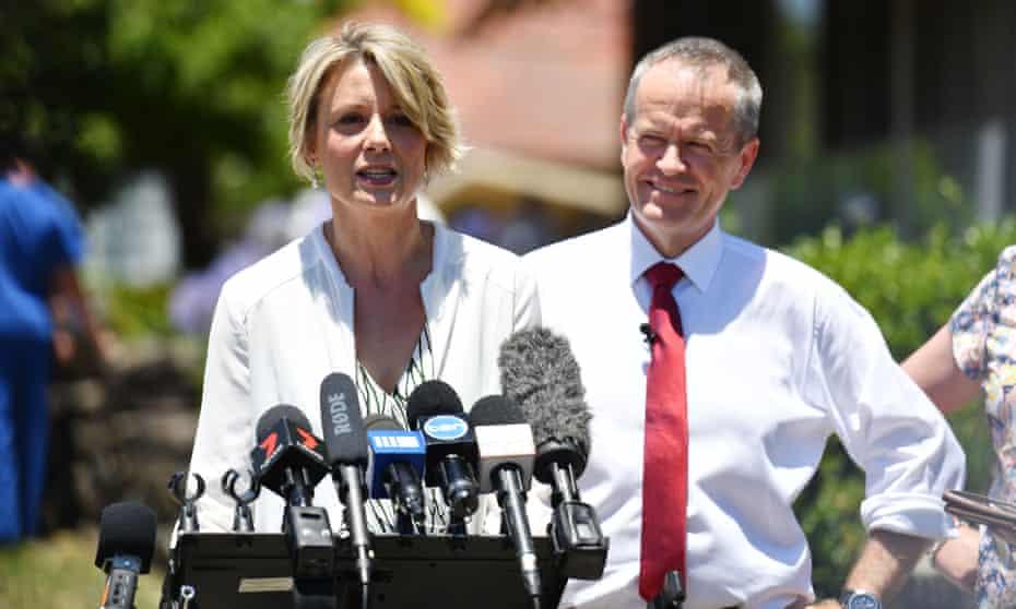 Kristina Keneally and Bill Shorten