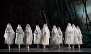 'Gothic glamour': the corps provide the 'real thrills' for Giselle at the Royal Opera House.