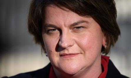Arlene Foster denied blame for cash-for-ash fiasco
