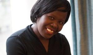 Polline Akello pictured in London