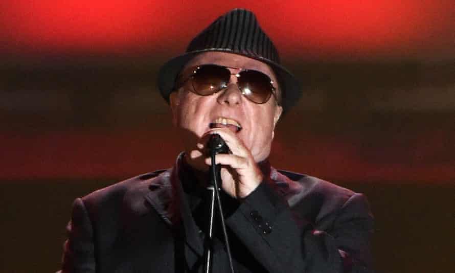 Van Morrison performing in 2015.
