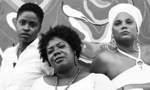 L to R: Latoya Nugent, Nadeen Spence and Taitu Heron founded the Tambourine Army to fight gender-based violence.