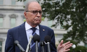 White House economic adviser Larry Kudlow: 'What's wrong with a little optimism?'