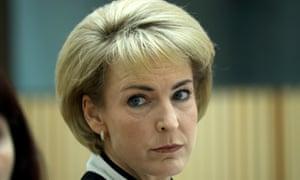 The employment minister, Michaelia Cash.