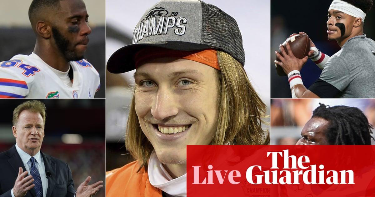 NFL draft 2021 first-round: Jaguars line up Trevor Lawrence for No1 pick – live!