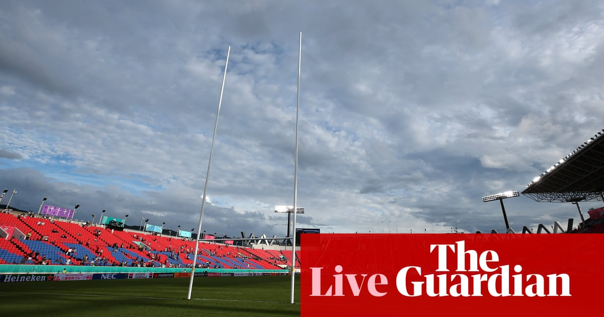Argentina v Tonga: Rugby World Cup 2019 – live!