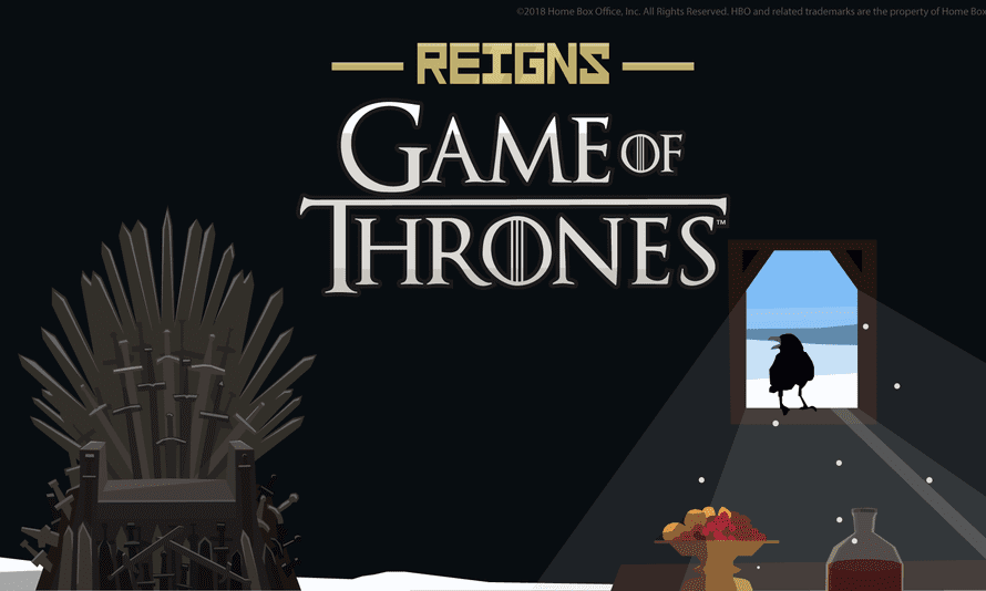 Hours of schemes, conversations and grisly ends … Reigns: Game of Thrones.