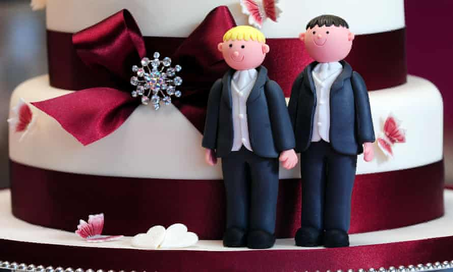 The industry still discriminated against same-sex couples by using terms such as 'bridal suite', said wedding planner Petra Truneckova.