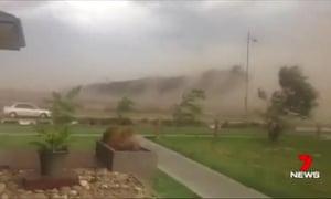 Thunderstorm Melbourne