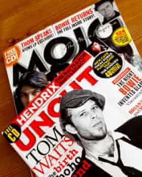 Mojo and Uncut magazines.