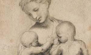 Raphael's Study for Charity, circa 1519