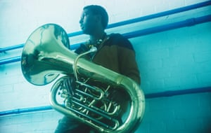 'If something happens to it, I can't work' … Theon Cross and his tuba. Photograph: Fabrice Bourgelle