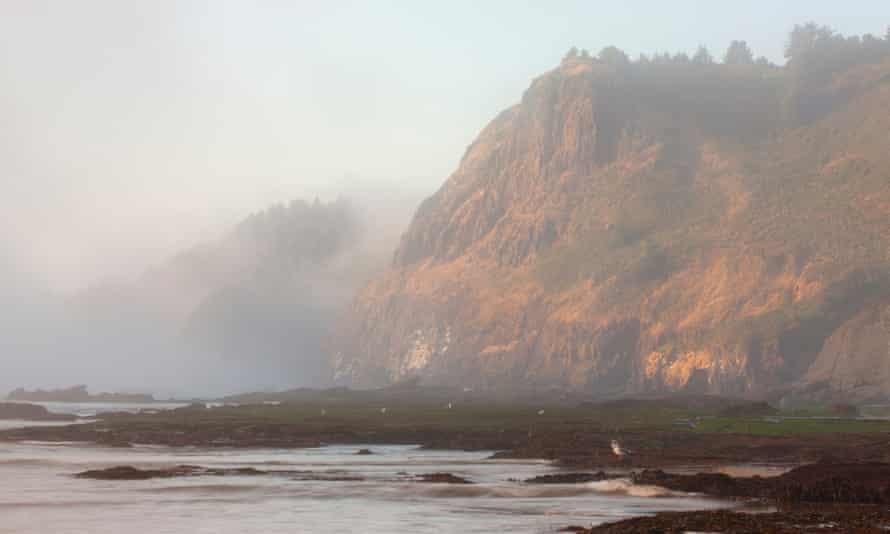 Cape Foulweather near Newport, Oregon.