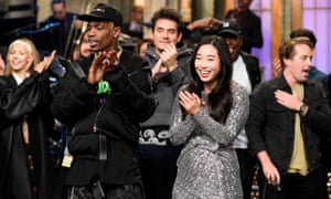 Saturday Night Live: Season 44, Episode 2 with musical guest Travis Scott and host Awkwafina.