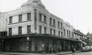 The department store managed by Wendy Cope's father.