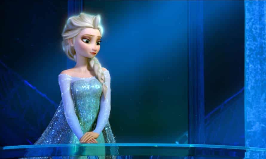 Elsa from the film Frozen.