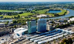 The new Arnhem Central Station, Netherlands