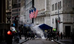 The New York Stock Exchange this morning