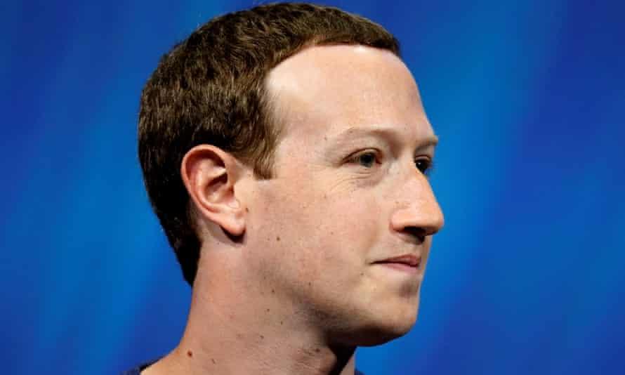 Facebook's founder and CEO, Mark Zuckerberg.