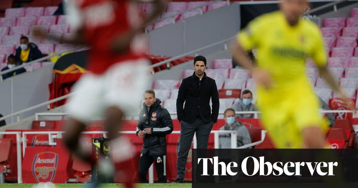 Arsenal's squad needs changing, admits struggling Mikel Arteta