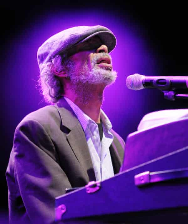 Gil Scott-Heron at the Womad festival in 2010.