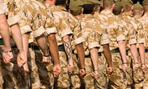Self-harming among British military personnel up by a third