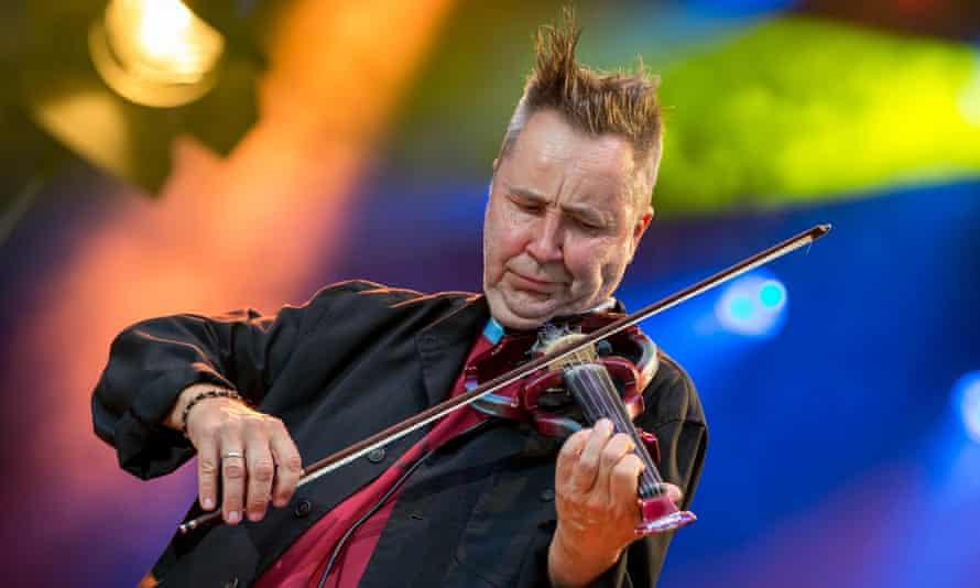 Nigel Kennedy performing at the Saar music festival in Germany last year.