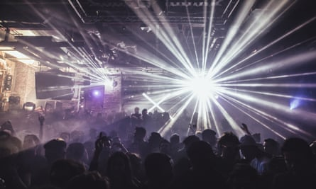 'If you make it to Fabric you can be sure you're a good DJ' ... the dancefloor at Fabric.