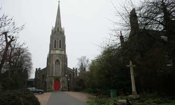 St Michael's church in Highgate