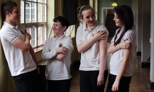 A targeted MMR vaccination campaign at Bishop Gore School in Swansea.