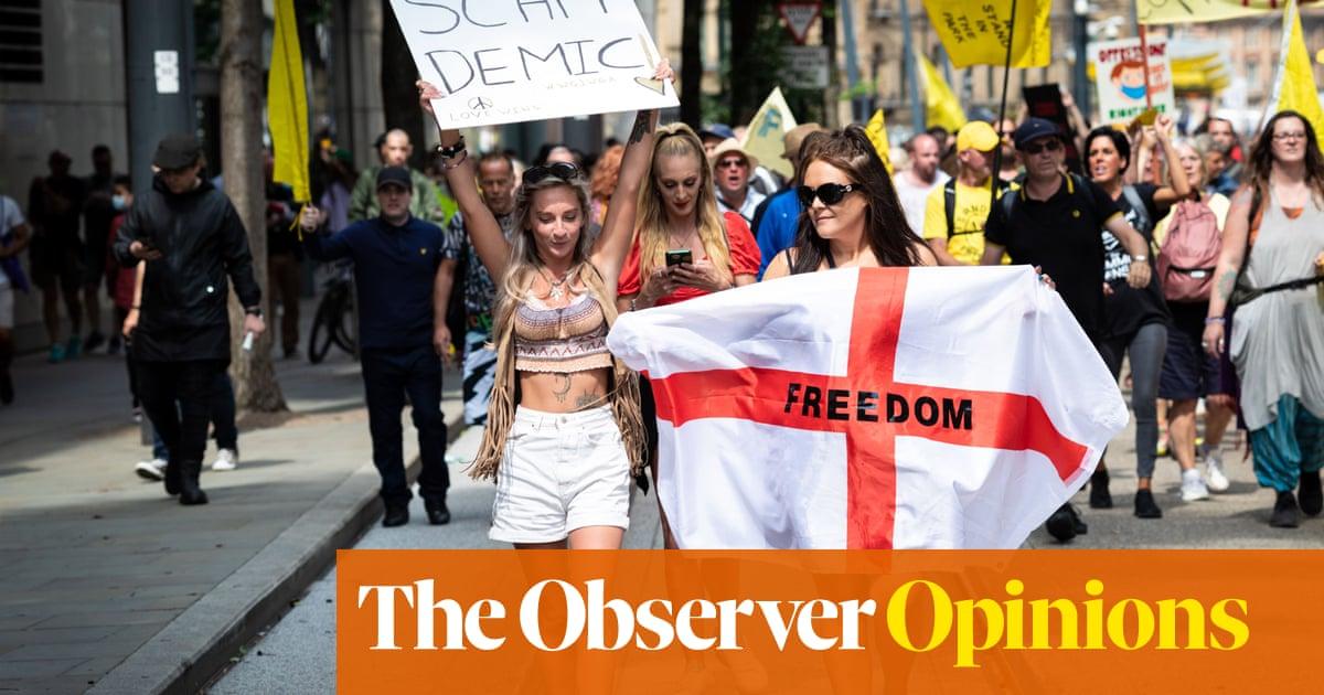 Anti-vaxxers using pro-choice slogans make me so angry