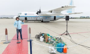 Boyan Slat, founder of the Ocean Cleanup.