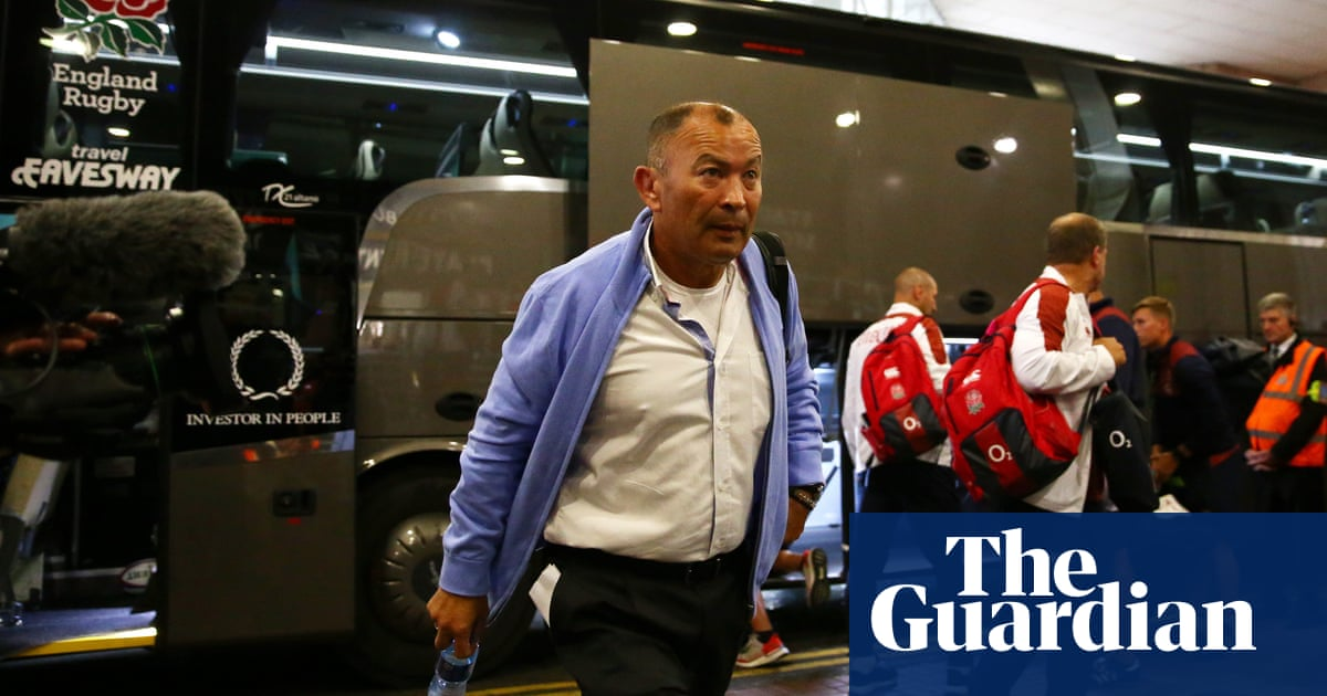 Eddie Jones leaves no stone unturned in preparation for the unexpected | Robert Kitson