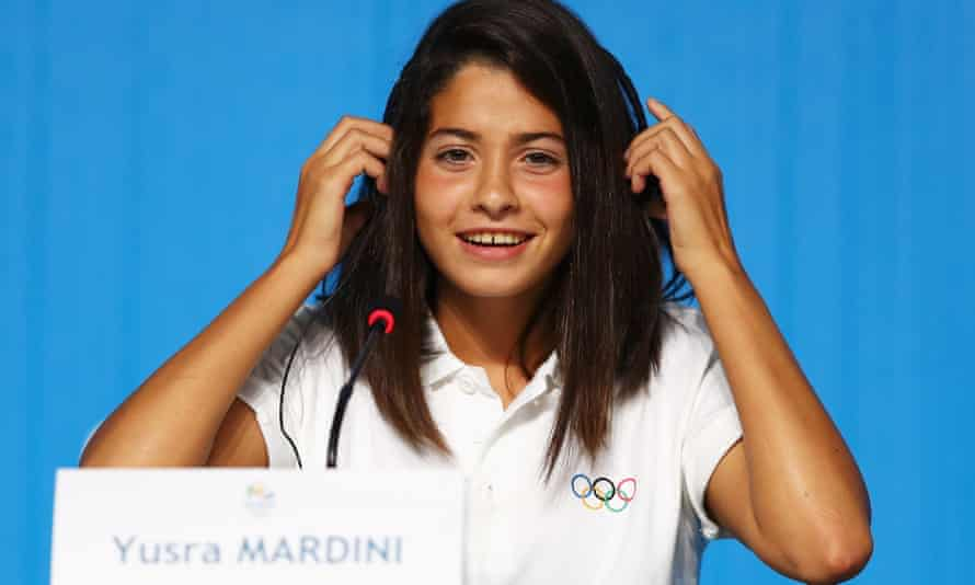 Yusra Mardini: 'The only thing I ever wanted was to compete in the Olympics.'