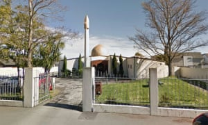 Christchurch Mosque on Deans Ave.