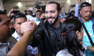 El Salvador presidential candidate Nayib Bukele
