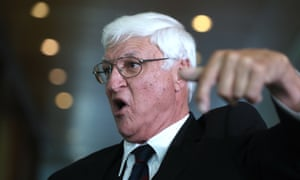 Bob Katter pledged allegiance to the Proud Boys. who are classified by US civil rights organisation as a hate group.