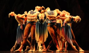 Pan's people … Ruth Brill's Arcadia, part of a Birmingham Royal Ballet triple bill at Sadler's Wells, London.