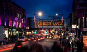 Camden Lock, London, is on the route of the planned Music Walk.