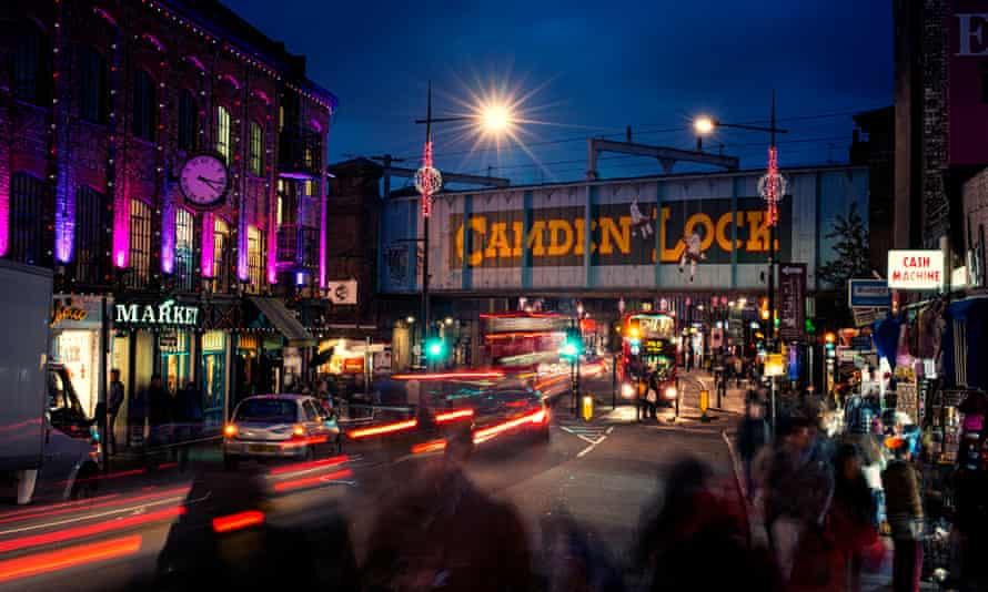 Camden Lock and market