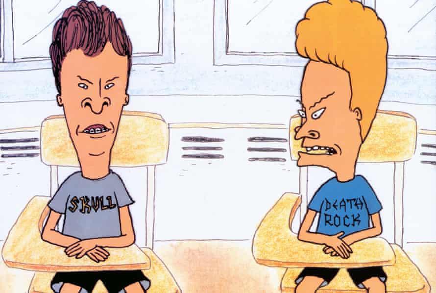 Seminal 1990s TV … Beavis and Butt-Head.