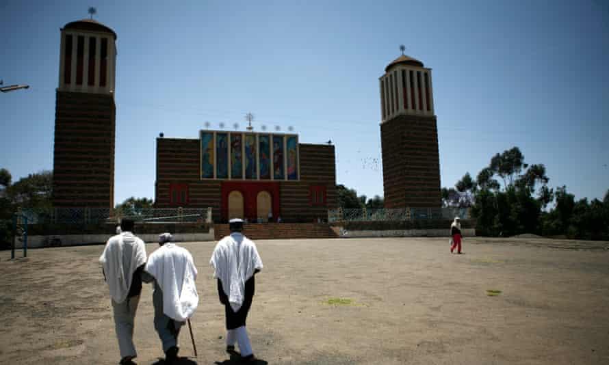 Orthodox cathedral in Asmara.