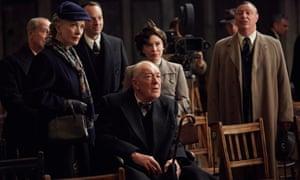 Lindsay Duncan, Bill Paterson, Matthew Macfadyen, Michael Gambon and Daisy Lewis in Churchill's Secret