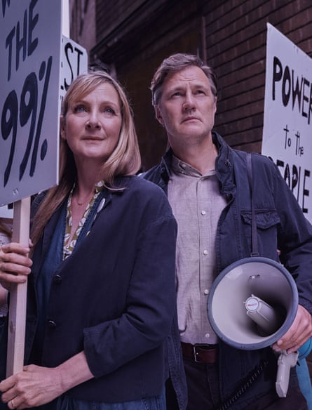 Lesley Sharp and David Morrisey star in The End of History.