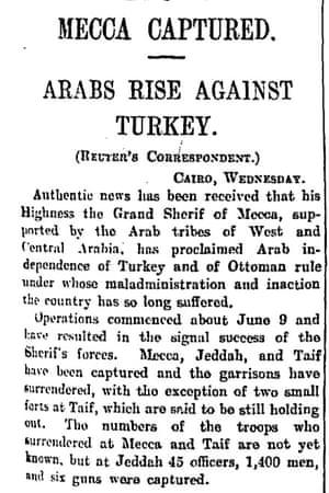 Manchester Guardian, 22 June 1916.