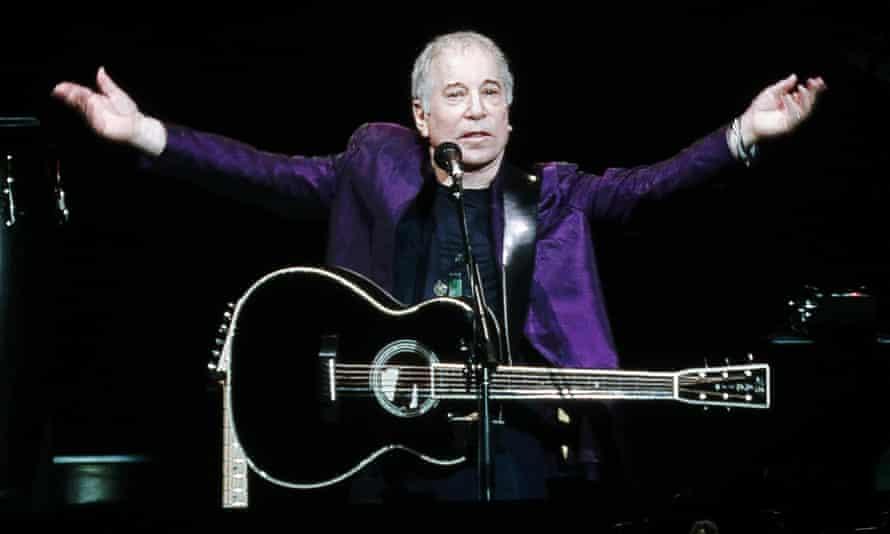 Paul Simon at Manchester Arena.